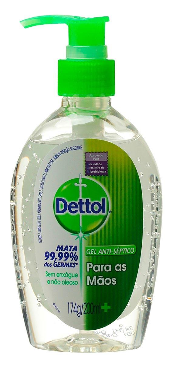 Gel Anti Septico Dettol 200ml