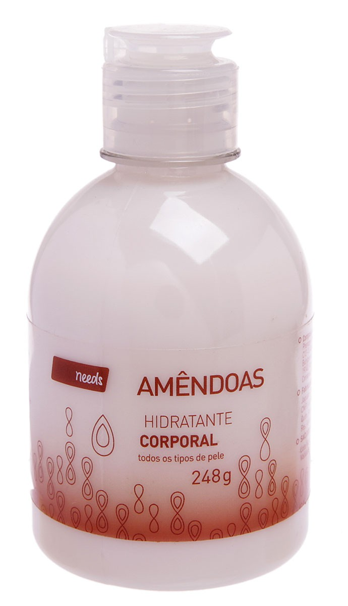 Needs Hidratante Corporal Amendoas 250g
