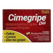 Cimegripe Dia 400+400+20mg X 20 Cpr