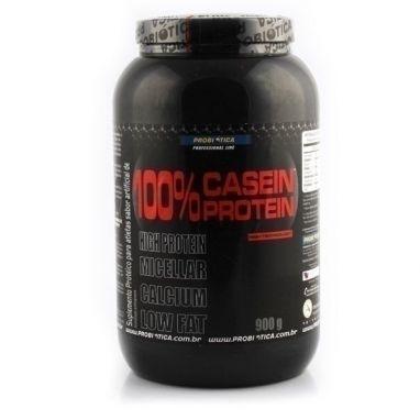 100% Casein Protein, Baunilha - Probiótica - 900g