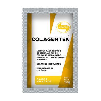 Colagentek, Abacaxi - Vitafor - 10 Sachês 10g