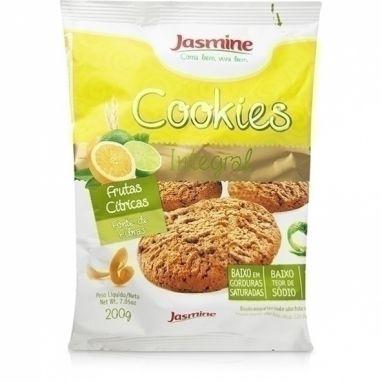 Cookie Integral, Frutas Cítricas - Jasmine - 200g