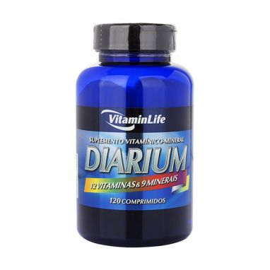 Diarium - Vitaminlife - 120 Cápsulas