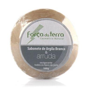 Sabonete De Argila E Arruda - Força Da Terra - 100g