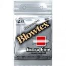 Preservativo Blowtex Extra Fino 3 Unidades Bolso