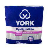 Algodão York Bolinhas 50g