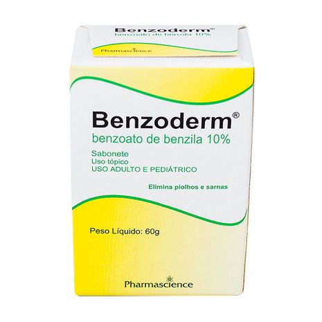 Benzoderm Sabonete 60 G