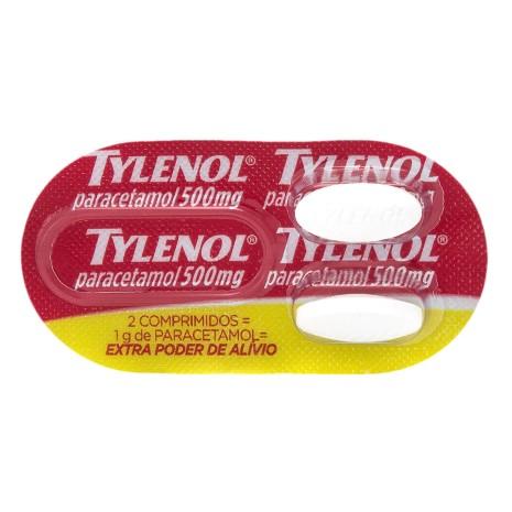 Tylenol 500 Mg Bl 50x2 Cpr Rev Ext Poder Aliv