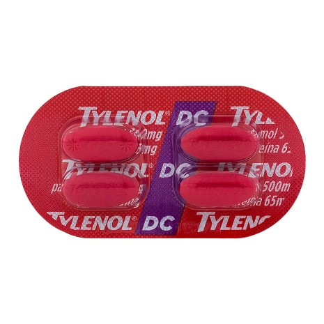 Tylenol Dc 500 Mg 100 Cprs