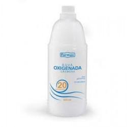 Agua Oxigenada Farmax 20v 900ml