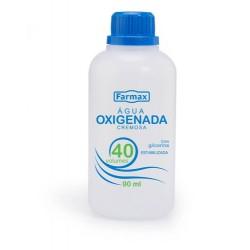 Agua Oxigenada Farmax 40v Crem 90ml