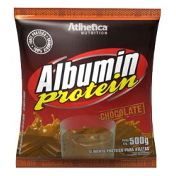 Albumin Protein, Chocolate - Athletica - Pó 500g
