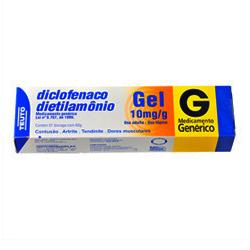 Diclofenaco De Dietilamonio 10 Mg Gel 60 G