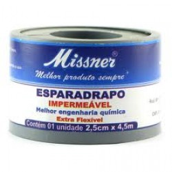 Esparadrapo Missner 2,5cm X 4,5m