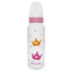 Mamadeira Lillo Divertida Rosa 240ml