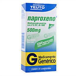 Naproxeno 500 Mg 10 Cprs