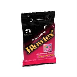 Preservativo Blowtex Arom Tutti Frutti 3 Unidades