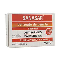 Sanasar 0,10g Sabonete 80 G