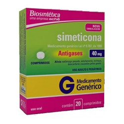 Simeticona 40mg X 20 Cpr