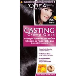 Tintura Casting Creme Gloss 200 - Preto