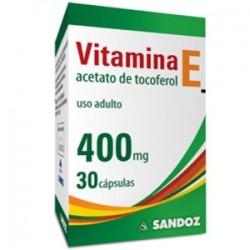 Vitamina E 400 Mg 30 Caps