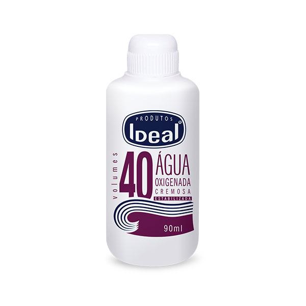 Agua Oxigenada 40v 90ml Ideal