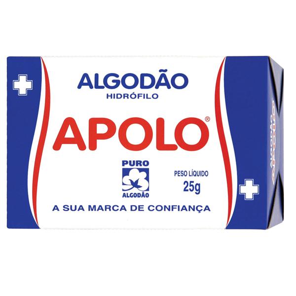 Algodão Apolo Cx 25g