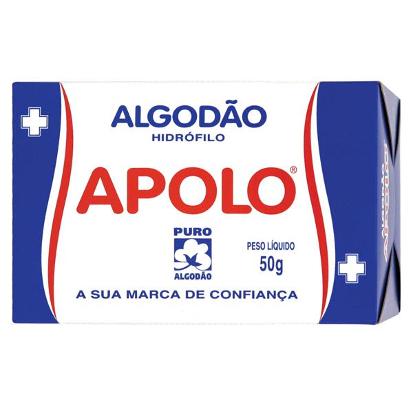 Algodão Apolo Cx 50g