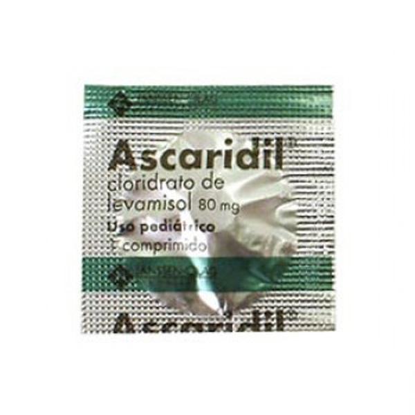 Ascaridil 80 Mg Infantil 100 Env X 1comp