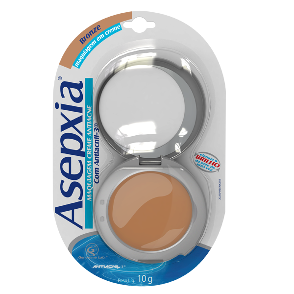 Asepxia Cr Maq Bronz 10 G