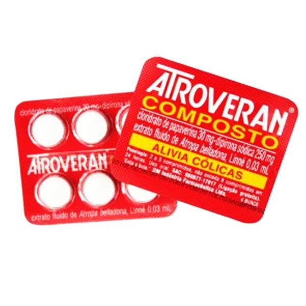 Atroveran Cpt Disp C/25 Env X 6 Cpr
