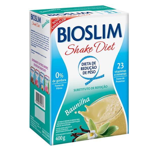 Bioslim Shake Diet Baunilha 400g