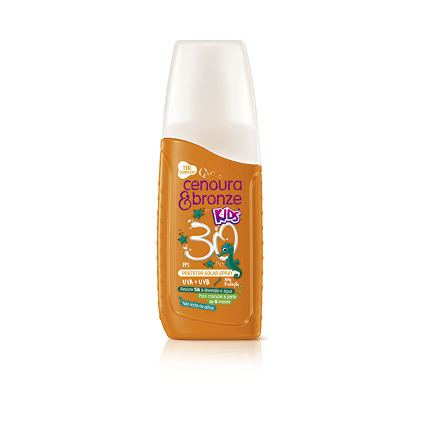Bronzeador Cenour & R Fps-30 Kids 110ml
