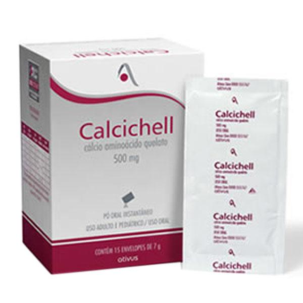 Calcichell 500 Mg Lar C/15 Env 7 Gr Po Oral