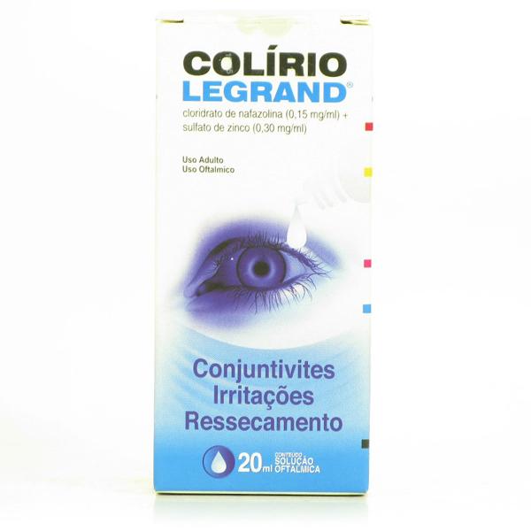 Colirio Legrand C/20 Ml