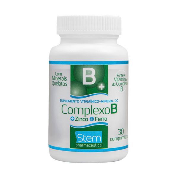 Complexo B Com 30 Comprimidos Revestidos - Stem