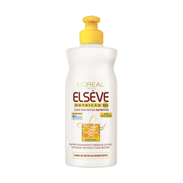 Creme Elseve Para Pentear Nutriçao 10 250ml