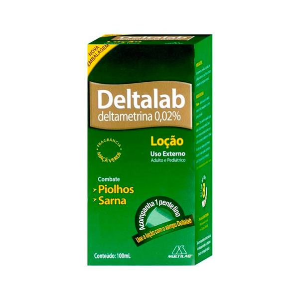 Deltalab 0,2 Mg Loção 100 Ml