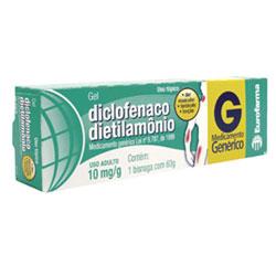 Diclofenaco De Dietilamonio 10 Mg Creme 60 G