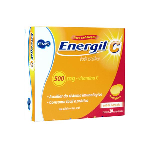 Energil C 500 Mg 20 Cprs