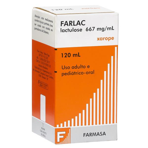 Farlac 667 Mg Xarope 120 Ml