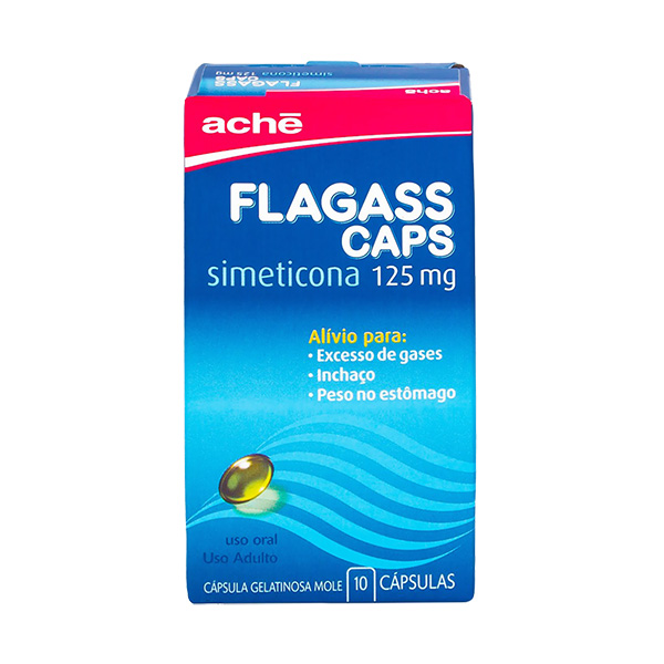 Flagass 125 Mg Bl X 10 Cps Gel Mole