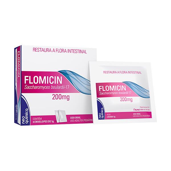 Flomicin 200 Mg 4sach X 1 G