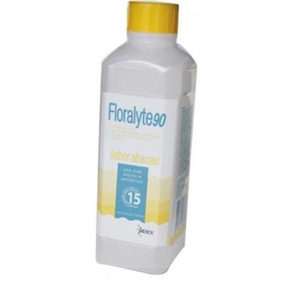 Floralyte 90 Solução Oral 500 Ml Abacaxi
