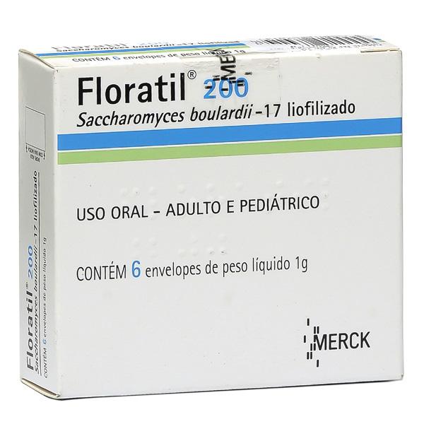 Floratil 200 Mg 6 Sache X 1 G