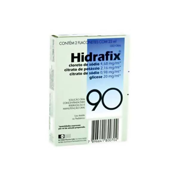 Hidrafix 90 Flaconetes 25ml X 2