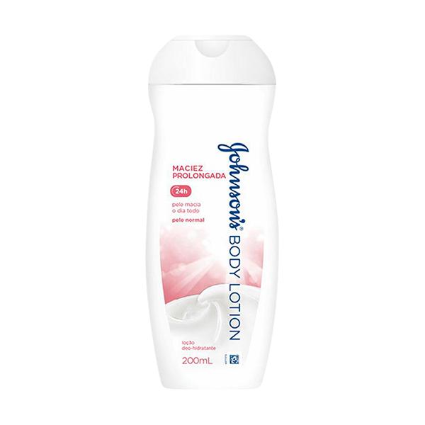 Hidratante Johnson & Johnson Soft 24h 200ml