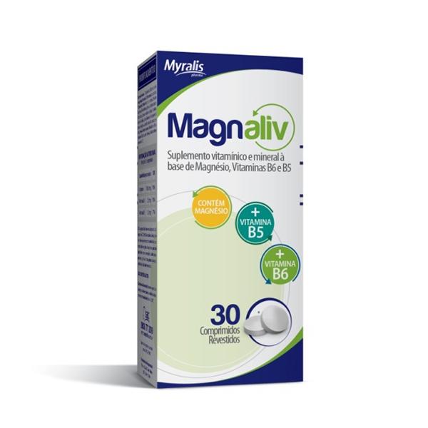 Magnaliv 130+2,5+1mg Bl Al Plas X 30 Cpr Ver