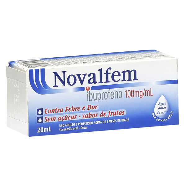 Novalfem 100mg/Ml Sus Oral Fr Plas Opc Gts X 20 Ml