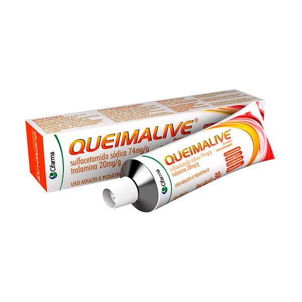 Queimalive 74 + 20g Pomada 30 G